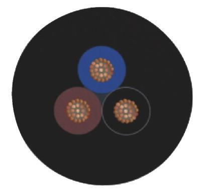 Cabo SAC-3P- 1,5-PUR/M 8FR - 1669738