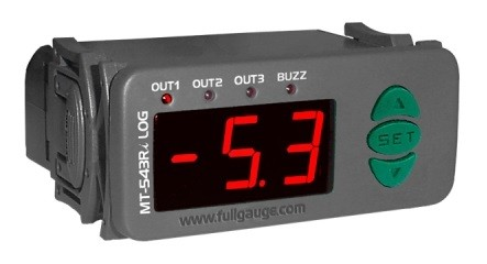 MT-543Ri LOG Termostato Digital Full Gauge