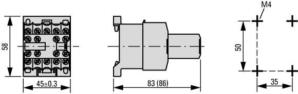 Contato Auxiliar - 31DILE (3NA-1NF)
