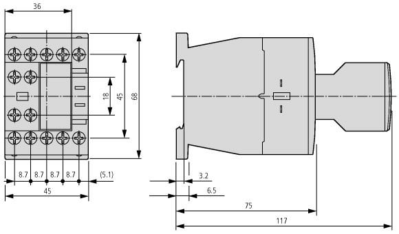 DILA-XHI11 (1NA-1NF) - 276421 EATON