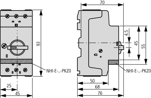Contato Auxiliar NHI-E-11-PKZ0 - 82882 EATON