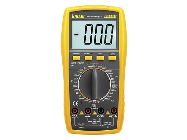 Multímetro Digital HM-2080