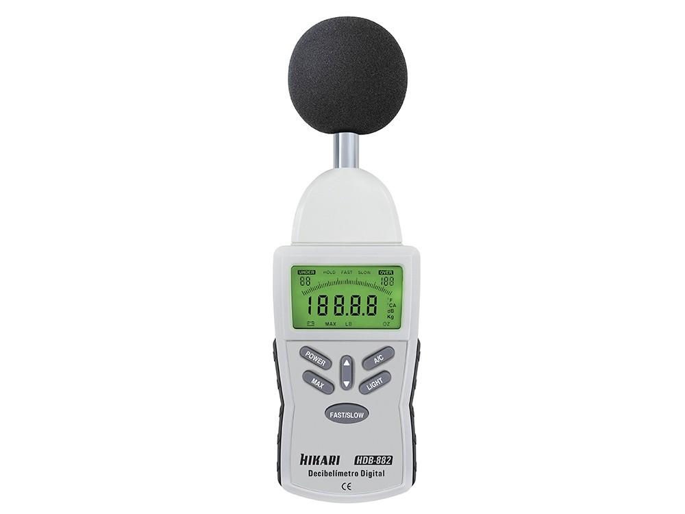 Decibelímetro Digital HDB-882
