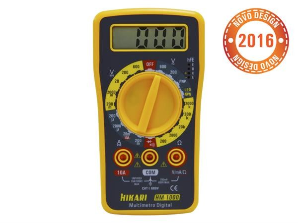 MULTÍMETRO DIGITAL HM-1000