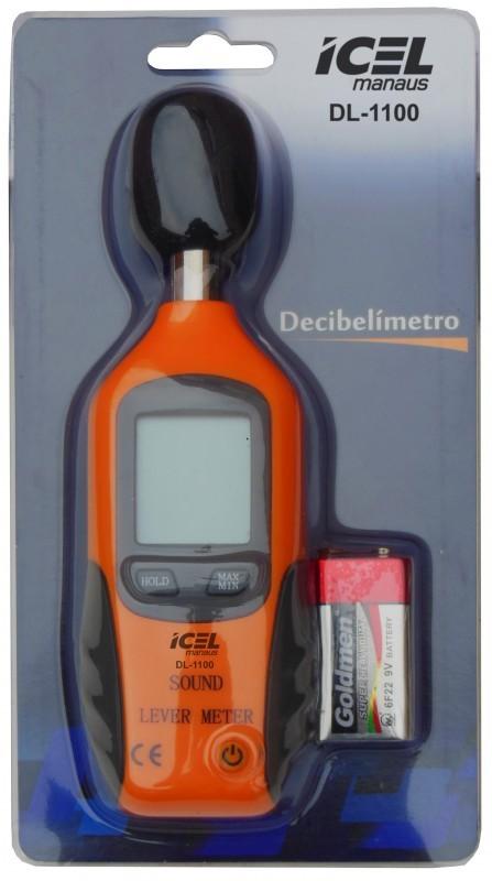 DECIBELÍMETRO DL-1100 - ICEL