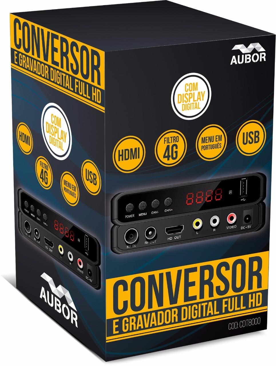 CONVERSOR DIGITAL AUBOR ISDBT CDT8000