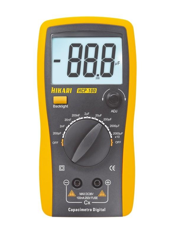 Capacímetro Digital HCP-100