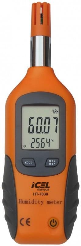 Termo-higrômetro HT-7030 Icel