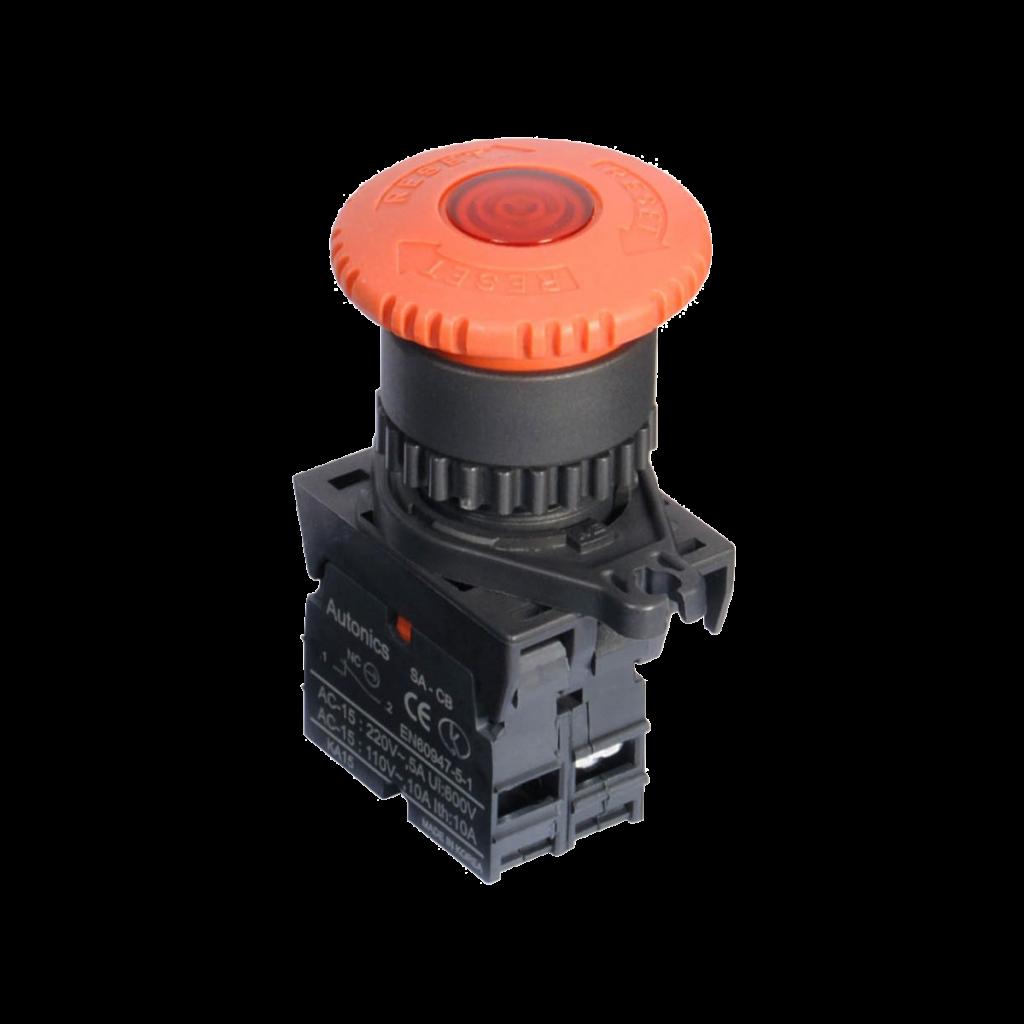 Botão de Emergência com Iluminação S2ER-E4RBD