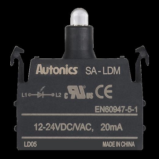 Bloco de Iluminação 12-24VDC/VAC SA-LDM