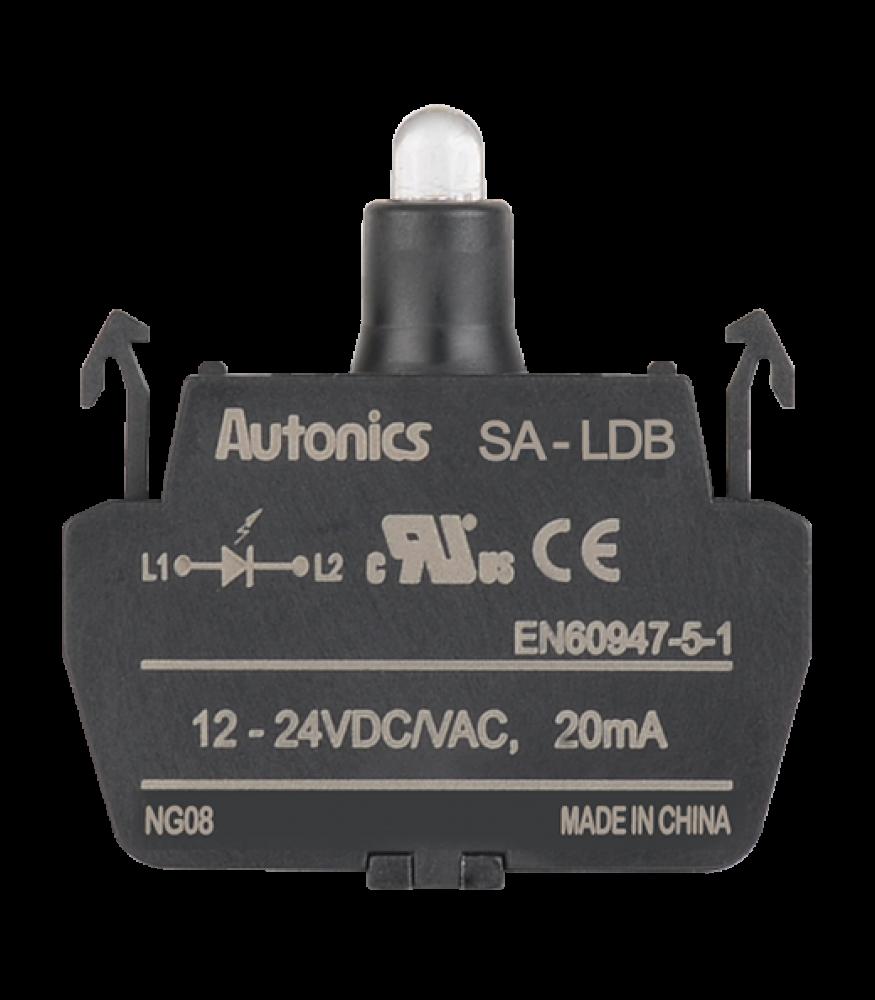 Bloco de Iluminação 12-24VDC/VAC SA-LDB