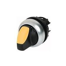 Botão 3 Posições Sem Retenção Iluminado M22-WLK3-Y - 216839